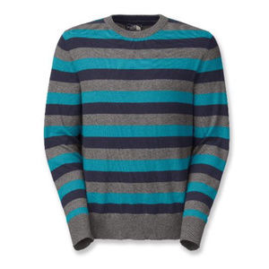 The North Face Mt. Tam Crew Sweater - Baja Blue
